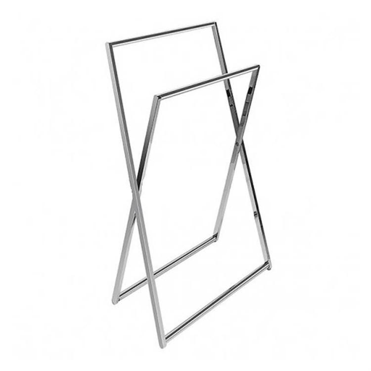Accessorio porta salviette da terra cromato altezza 89 cm - Colombo Design