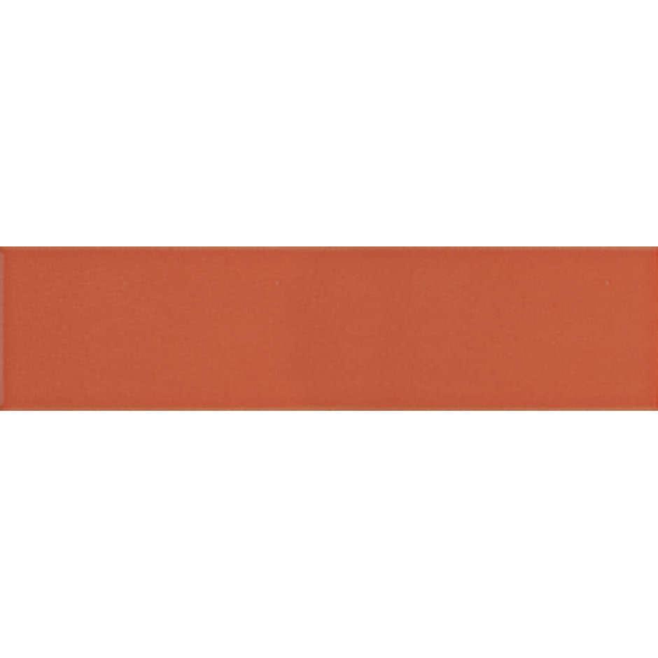 Angolo esterno in ceramica arancione lucido D2 Cleverone 2x40 cm - Colore & Colore, Ceramica Bardelli