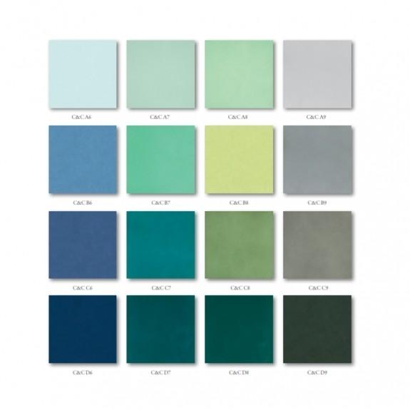 Angolo esterno in ceramica azzurro lucido A6 Cleverone 2x40 cm - Colore & Colore, Ceramica Bardelli