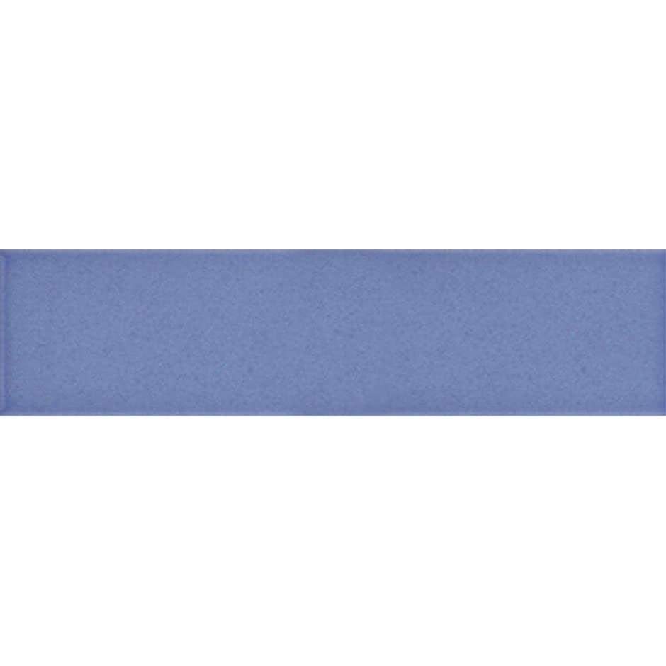 Angolo esterno in ceramica blu lucido C5 Cleverone 2x40 cm - Colore & Colore, Ceramica Bardelli