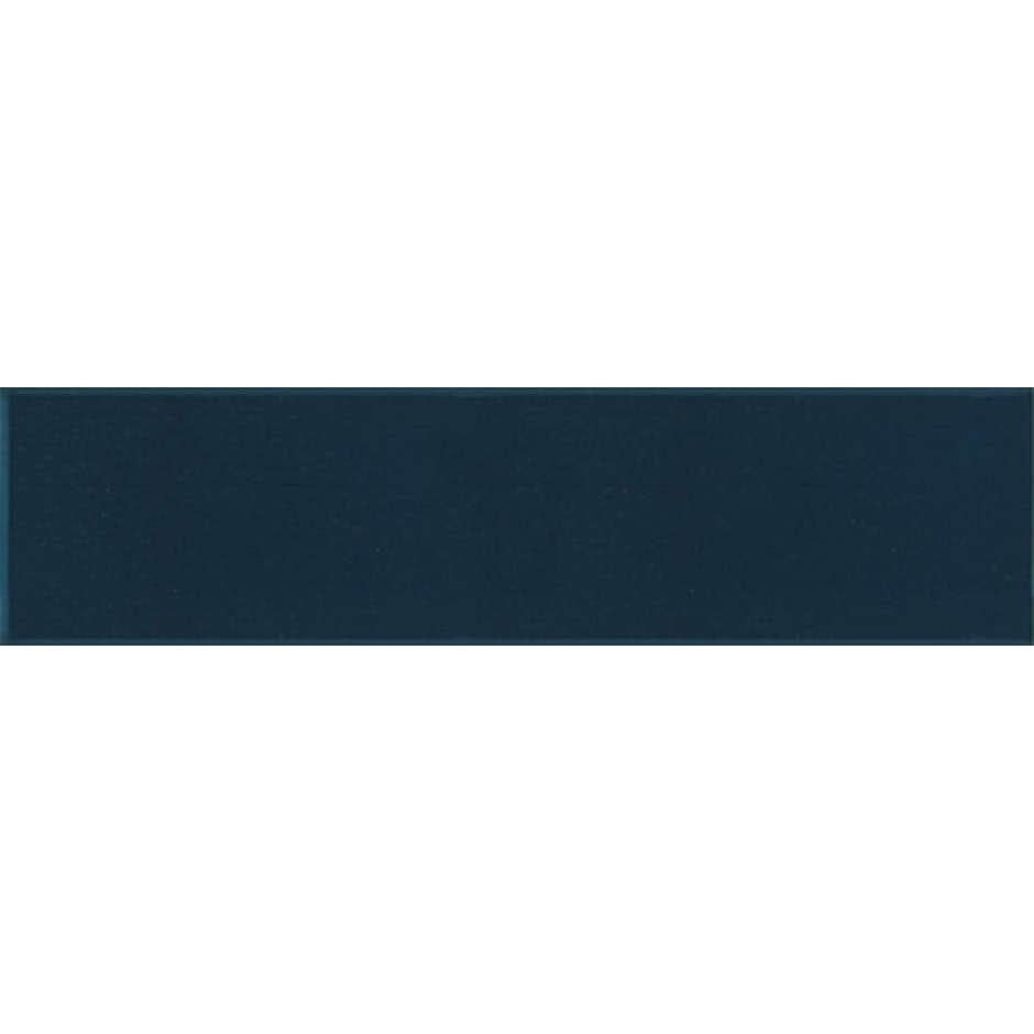 Angolo esterno in ceramica blu lucido D6 Cleverone 2x40 cm - Colore & Colore, Ceramica Bardelli