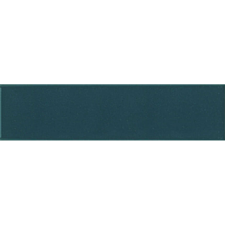Angolo esterno in ceramica blu lucido D7 Cleverone 2x40 cm - Colore & Colore, Ceramica Bardelli