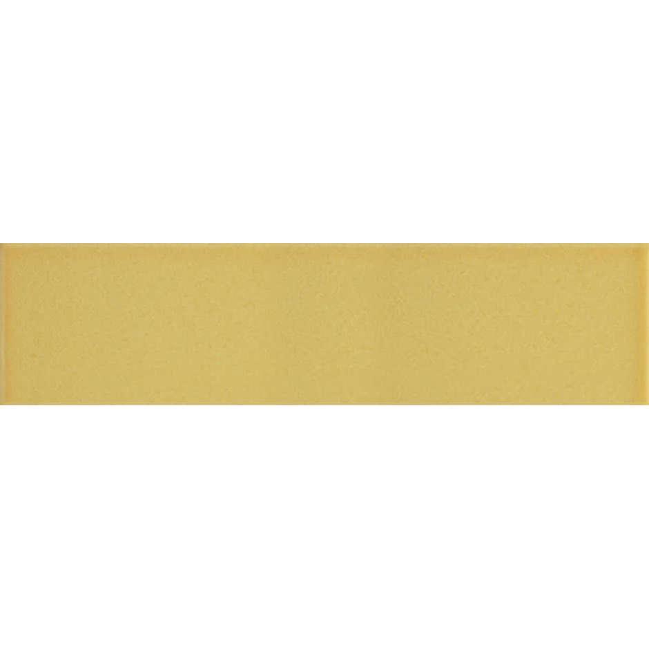Angolo esterno in ceramica giallo sole lucido B2 Cleverone 2x40 cm - Colore & Colore, Ceramica Bardelli
