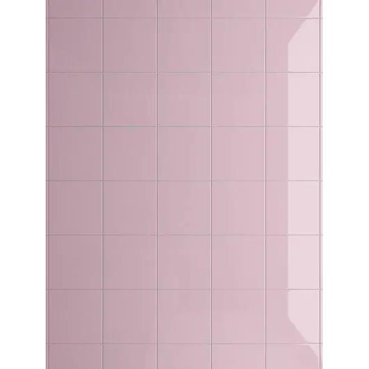 Angolo esterno in ceramica rosa lucido A4 Cleverone 2x40 cm - Colore & Colore, Ceramica Bardelli