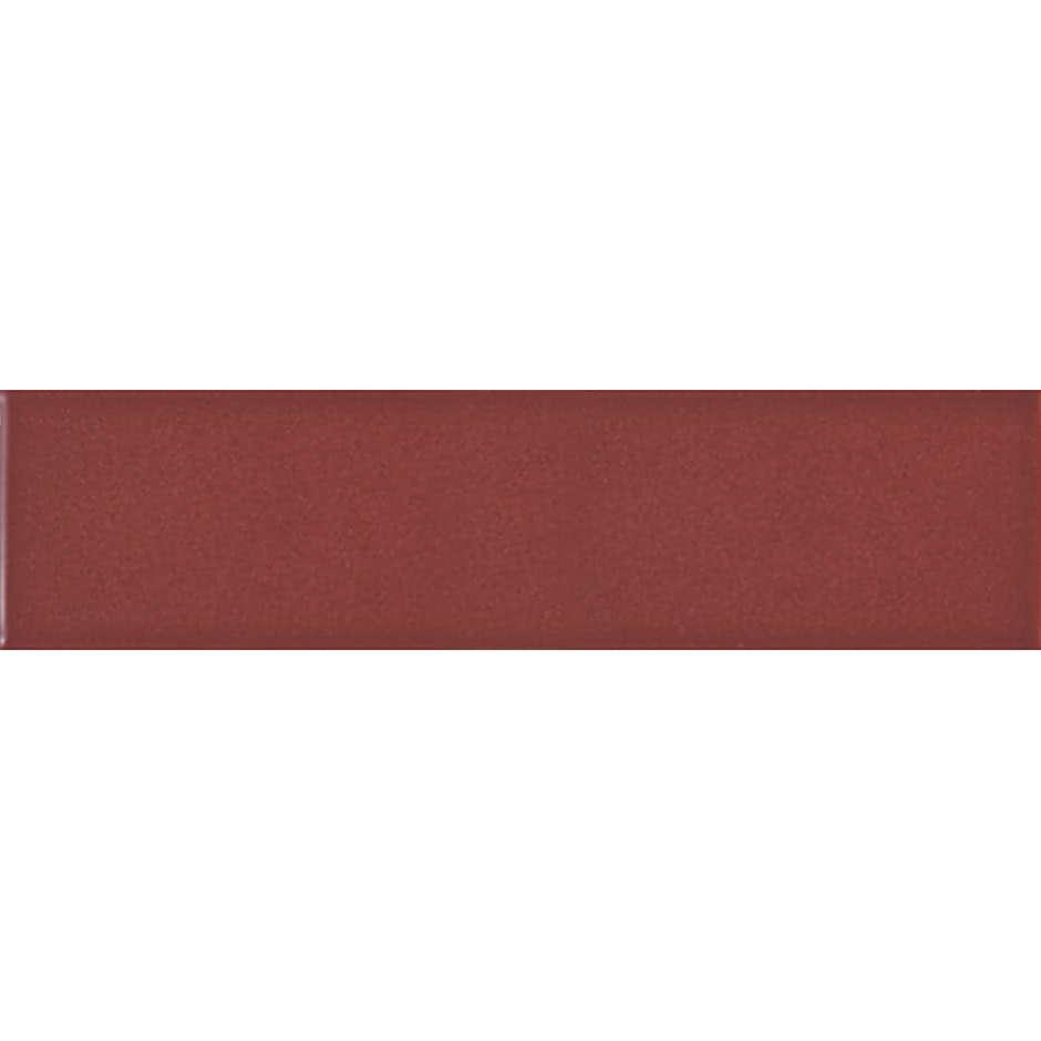 Angolo esterno in ceramica rosso lucido D3 Cleverone 2x40 cm - Colore & Colore, Ceramica Bardelli