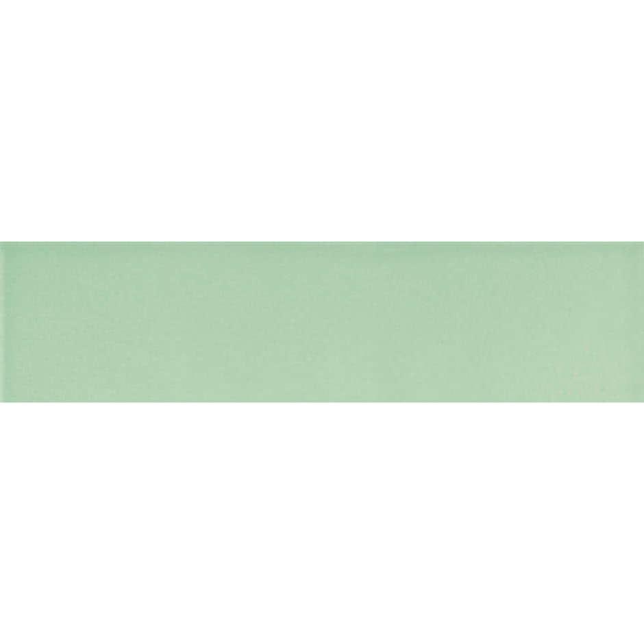 Angolo esterno in ceramica verde lucido A8 Cleverone 2x40 cm - Colore & Colore, Ceramica Bardelli