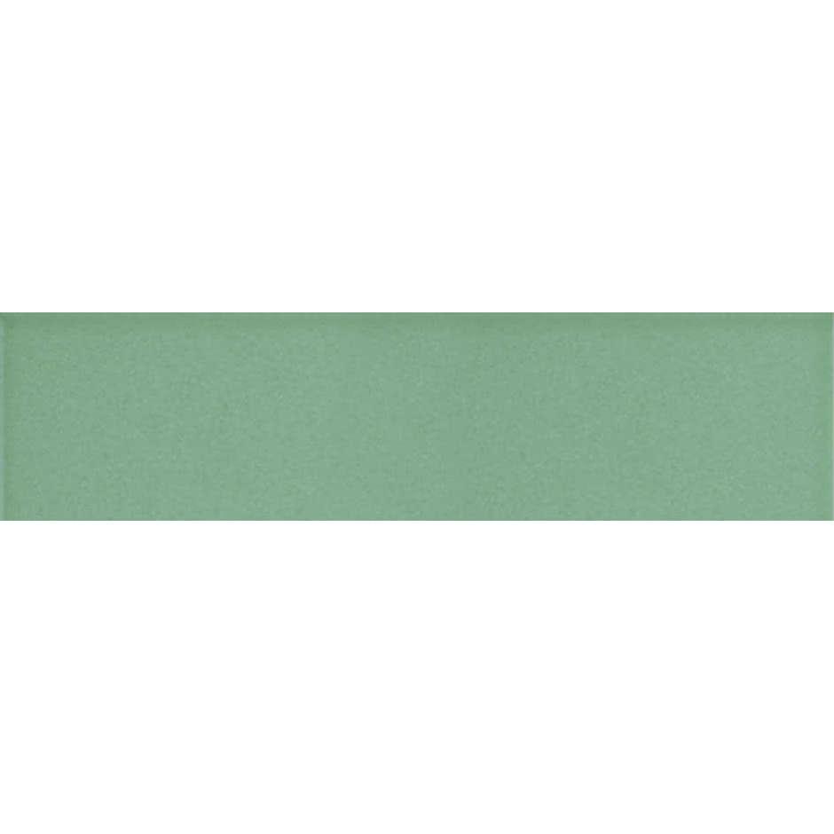 Angolo esterno in ceramica verde lucido B7 Cleverone 2x40 cm - Colore & Colore, Ceramica Bardelli