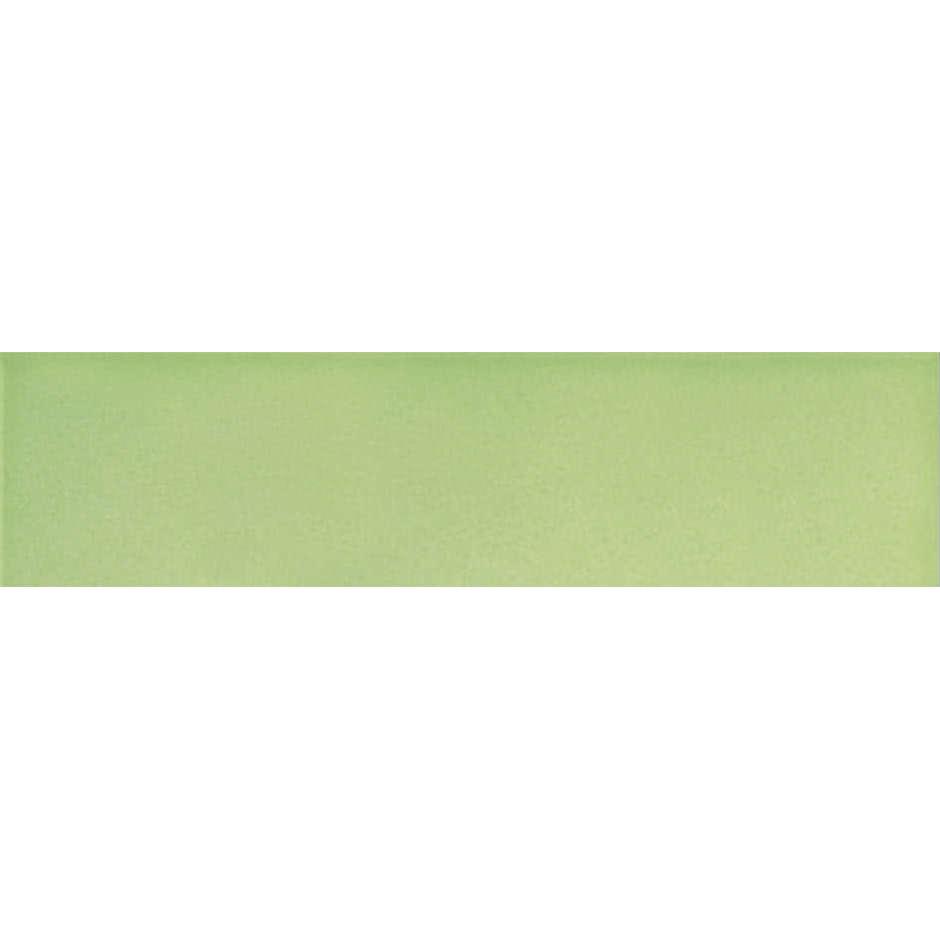 Angolo esterno in ceramica verde lucido B8 Cleverone 2x40 cm - Colore & Colore, Ceramica Bardelli