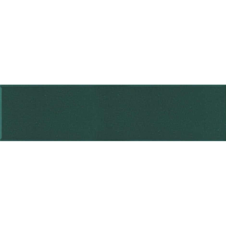 Angolo esterno in ceramica verde lucido D8 Cleverone 2x40 cm - Colore & Colore, Ceramica Bardelli