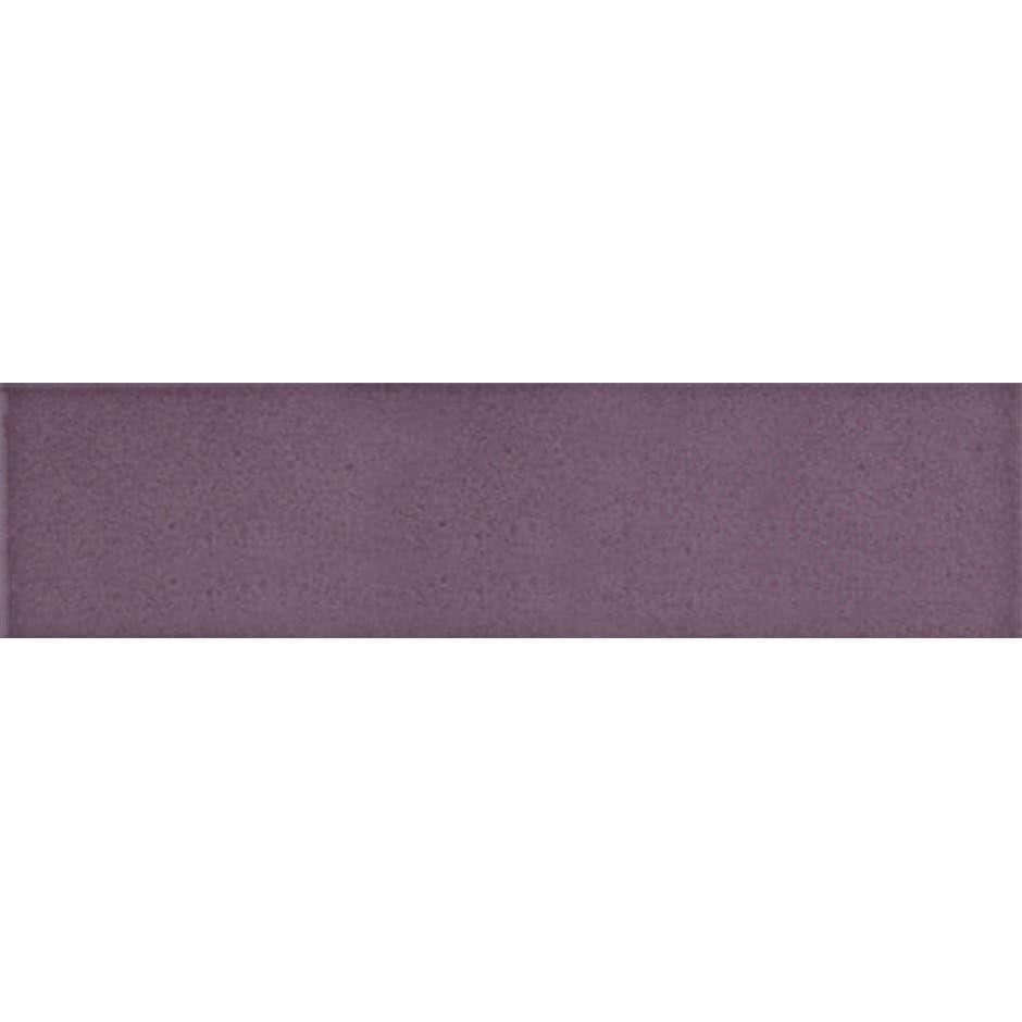 Angolo esterno in ceramica viola lucido C4 Cleverone 2x40 cm - Colore & Colore, Ceramica Bardelli