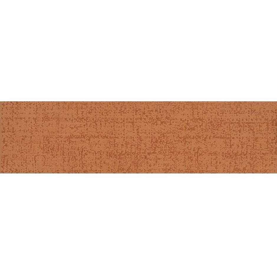 Battiscopa arancio screziato 9,5x50 Matrix 13, Ceramica Bardelli