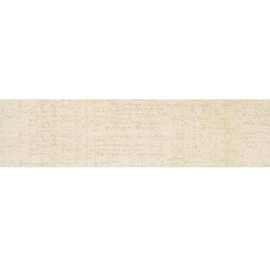 Battiscopa beige chiaro screziato 9,5x50 Matrix 12, Ceramica Bardelli