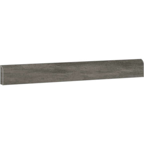 Battiscopa effetto cemento in gres porcellanato, Concrete Dark 7,3x90 cm - Set, Ceramica Sant'Agostino