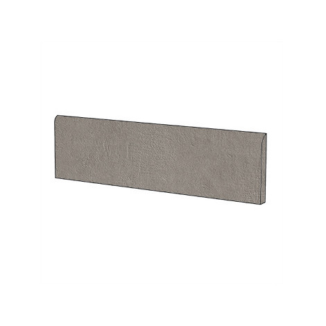 Battiscopa effetto cemento moderno in gres porcellanato colore Store 18 10x60 cm - Concrete Jungle, Blustyle