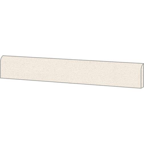 Battiscopa effetto graniglia di marmo, in gres porcellanato, Light 7,3x60 cm, superficie opaca - Newdecò, Ceramica Sant'Agostino