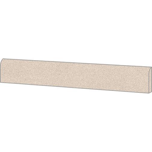 Battiscopa effetto graniglia di marmo, in gres porcellanato, Sand 7,3x60 cm, superficie opaca - Newdecò, Ceramica Sant'Agostino