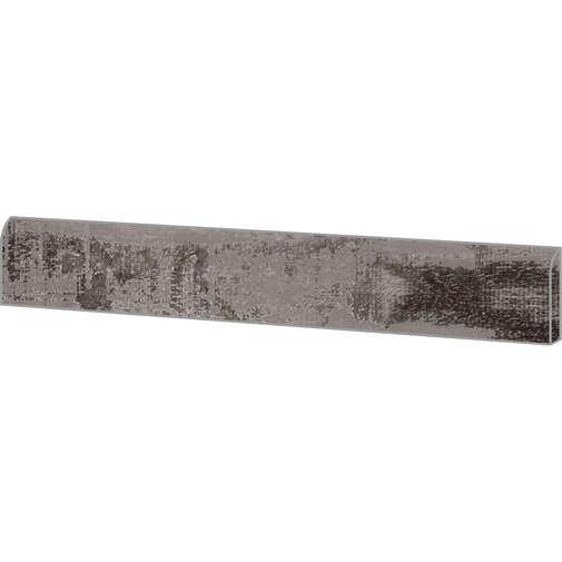 Battiscopa effetto legno in gres porcellanato Carbon 7,3x60 cm - Colorart, Ceramica Sant'Agostino