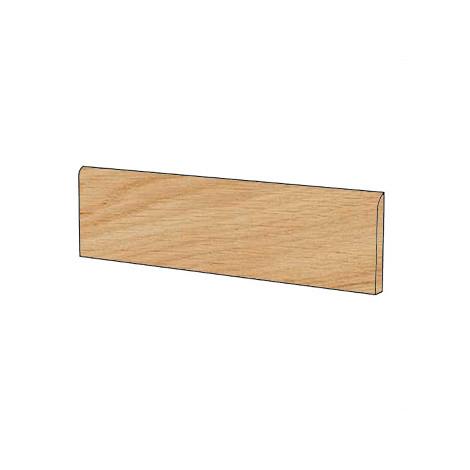 Battiscopa effetto legno in gres porcellanato colore Cloe 10x60 cm - Arborea, Blustyle