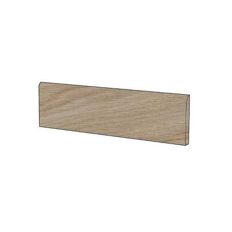 Battiscopa effetto legno in gres porcellanato colore Vesta 10x60 cm - Arborea, Blustyle