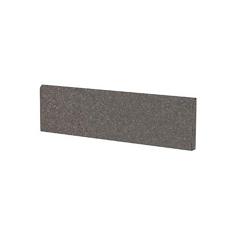 Battiscopa effetto pietra naturale colore grigio scuro Dark 5,7x60 cm - Geotech, Blustyle