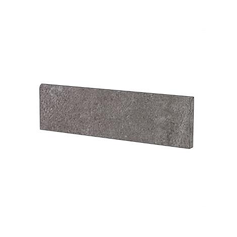 Battiscopa effetto pietra semi lucido moderno in gres porcellanato colore grigio Caprera Lappato 9x60 cm - Pietre di Sardegna, Casalgrande Padana