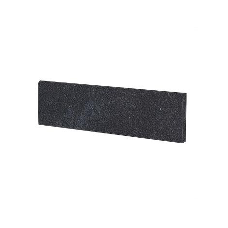 Battiscopa effetto pietra semi lucido moderno in gres porcellanato colore nero Tavolara Lappato 9x60 cm - Pietre di Sardegna, Casalgrande Padana