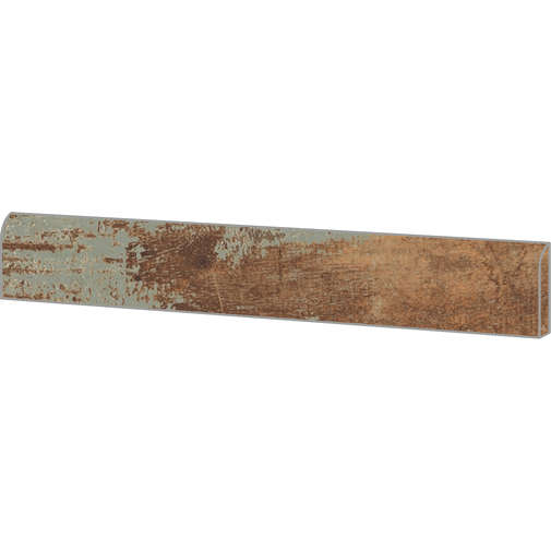Battiscopa  in gres porcellanato effetto legno, 7,3x60 cm Navy - Colorart, Ceramica Sant'Agostino