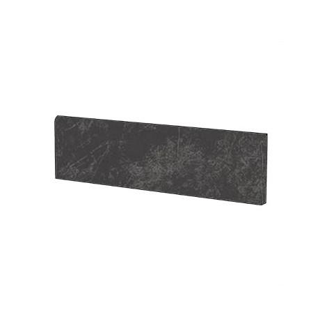 Battiscopa in gres porcellanato effetto resina, 9x90 cm Black - Resina, Casalgrande Padana