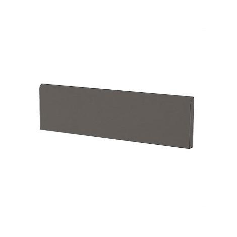 Battiscopa in gres porcellanato moderno tinta unita colore Marrone Light Brown 9x60 cm - Architecture, Casalgrande Padana