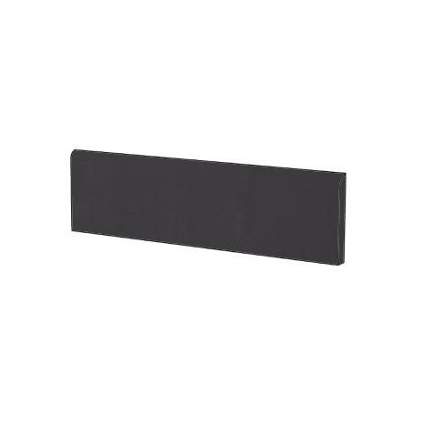 Battiscopa in gres porcellanato moderno tinta unita colore Nero Black 9x60 cm - Architecture, Casalgrande Padana