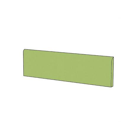 Battiscopa in gres porcellanato moderno tinta unita colore Verde Acid Green 9x60 cm - Architecture, Casalgrande Padana