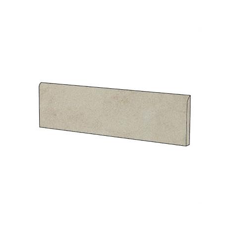 Battiscopa semi lucido effetto pietra in gres porcellanato colore Saturnia Lappato 9x60 cm - Pietre Etrusche, Casalgrande Padana