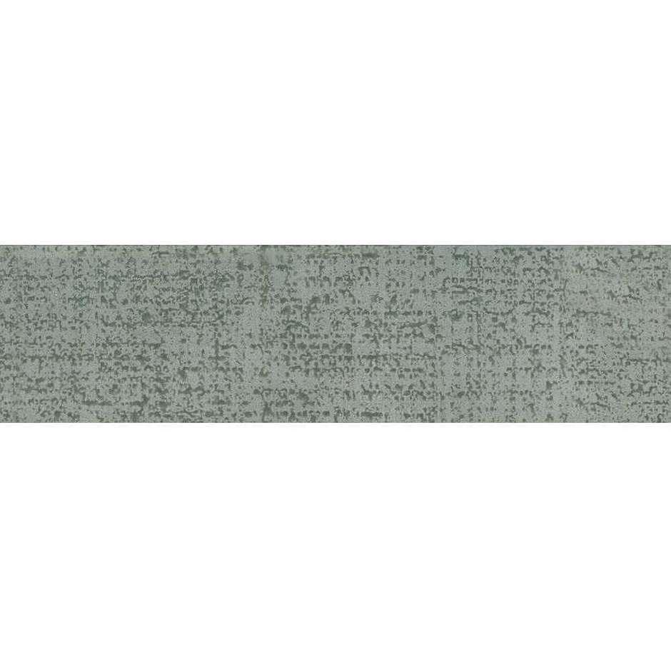 Battiscopa verde screziato 9,5x50 Matrix 4, Ceramica Bardelli