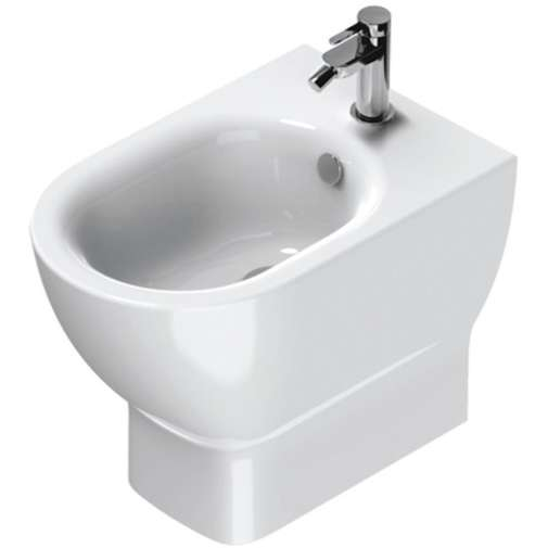 Bidet a terra in ceramica bianca 54x35 cm - Sfera Eco, Catalano