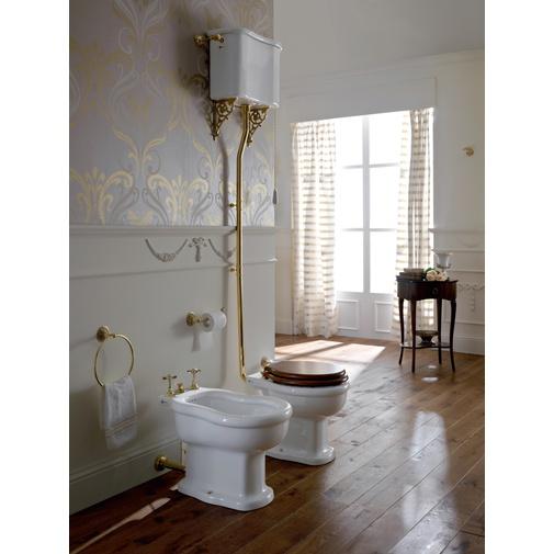Bidet a terra stile neoclassico bianco - Palladio, Sbordoni