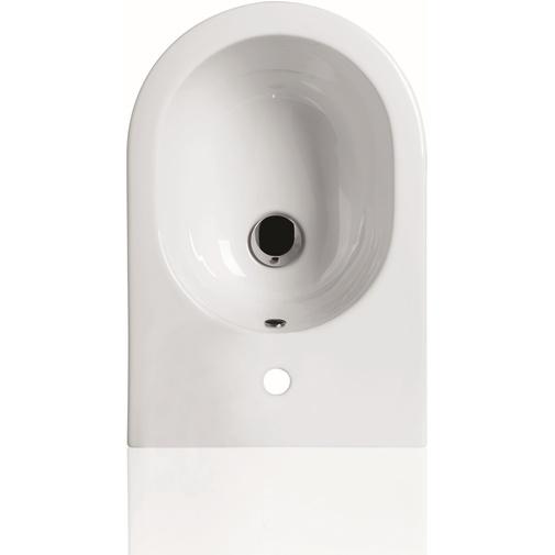 Bidet sospeso design leggero e compatto bianco lucido - E-Line, Simas
