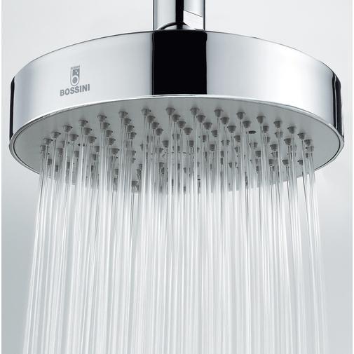 Braccio doccia 30 cm con soffione rotondo 14 cm - Dinamic, Bossini