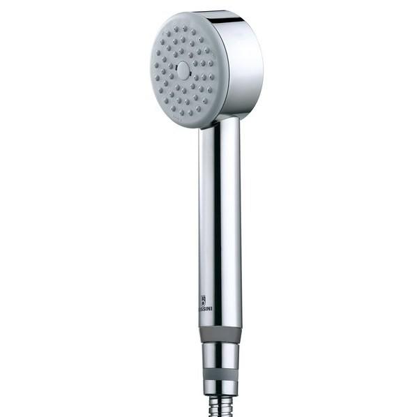 Colonna doccia a muro in stile moderno, soffione rotondo 25 cm con doccetta, miscelatore termostatico e flessibile antitorsione - Elios, Bossini