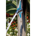 Colonna doccia da esterno in acciaio inox, con soffione rotondo diametro 25 cm, rubinetto lavapiedi e miscelatori progressivi - Nek Floor, Bossini