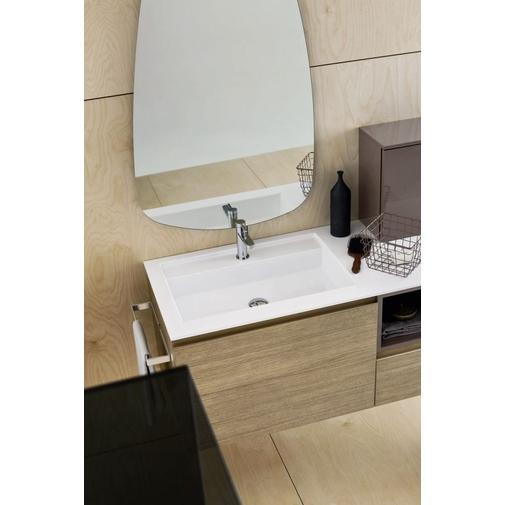 Composizione bagno compatta con mobile, lavabo, pensili e specchio - Street 36, Arbi Arredobagno