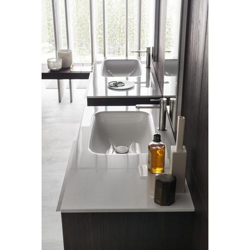 Composizione bagno con due mobili e colonne stile moderno - Alma 12, Arbi Arredobagno