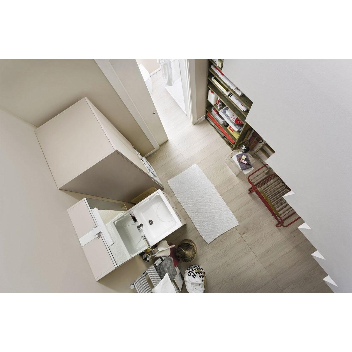 Lavabo A Colonna Design arbi arredobagno composizione bagno/lavanderia con mobile