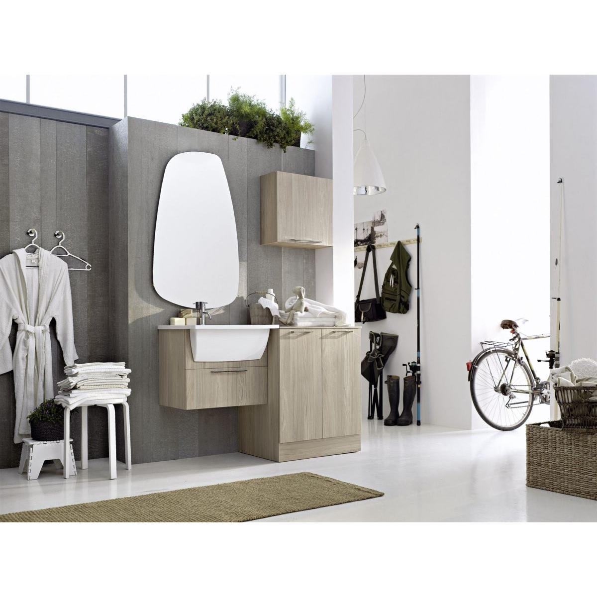 Mobile Bagno E Lavatrice arbi arredobagno composizione bagno/lavanderia con mobile