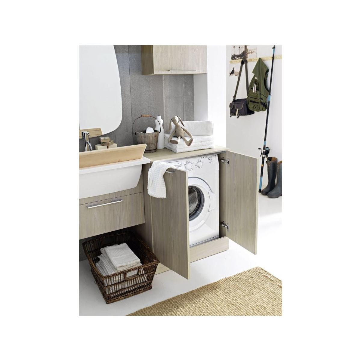 Mobile Bagno Con Colonna Lavatrice arbi arredobagno composizione bagno/lavanderia con mobile
