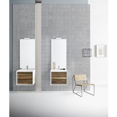 Mobiletti E Specchiere Bagno.Mobile Bagno Moderno Completo Di Specchio E Pensili Della