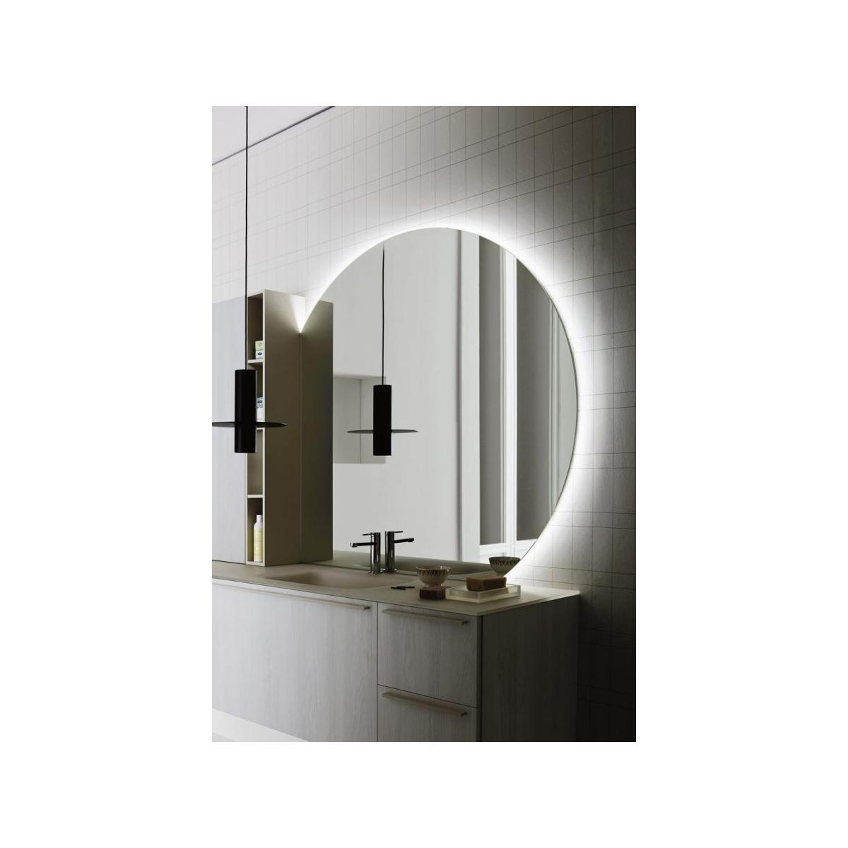 Lavabo A Colonna Design arbi arredobagno composizione bagno sospesa elegante con
