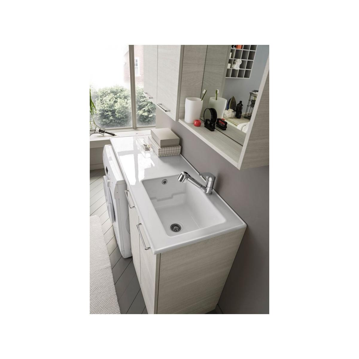 Mobile Bagno Lavabo E Lavatrice arbi arredobagno composizione lavanderia moderna con mobile