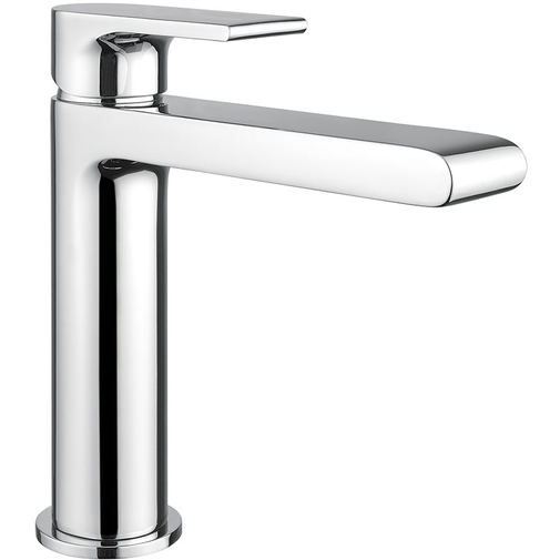 Miscelatore lavabo cromato standard stile moderno senza salterello - Simple, Rubinetteria Bugnatese