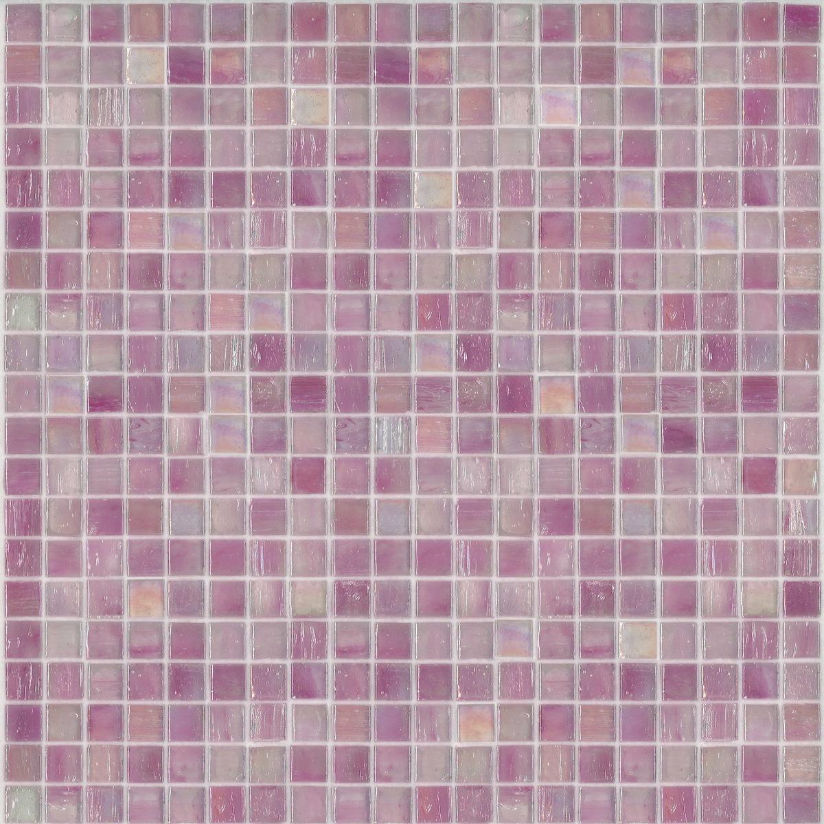 Piastrelle Bagno Mosaico Viola bisazza mosaico vetroso rosso/viola brillante, tessere 1,5x1