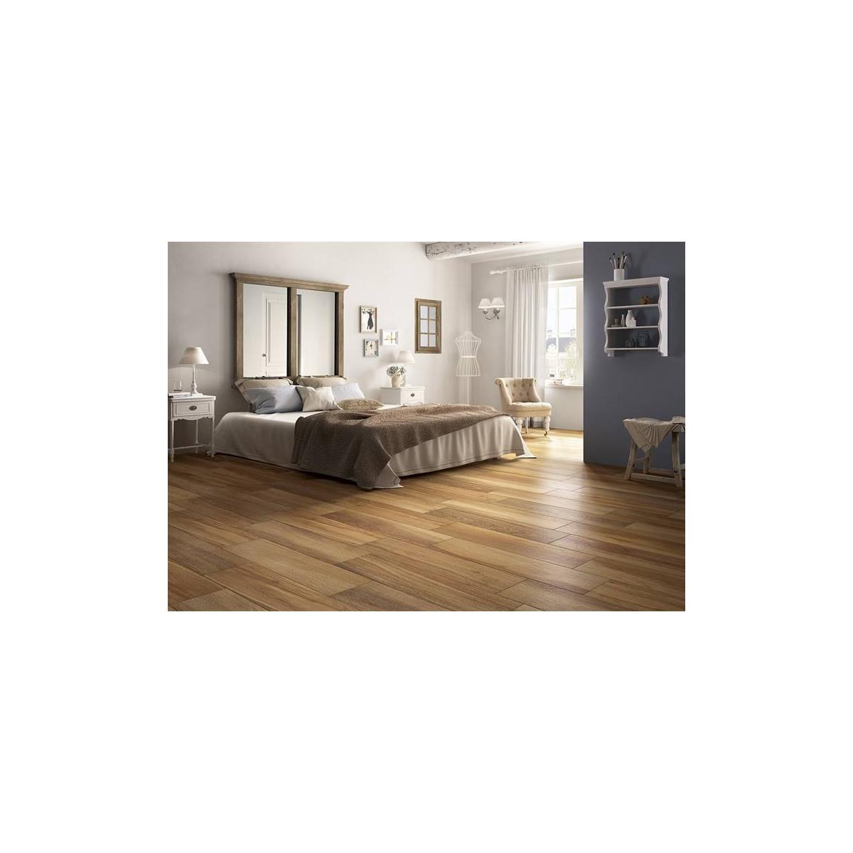 Mattonelle Simili Al Parquet pavimento in grande formato allungato colore caldo effetto legno